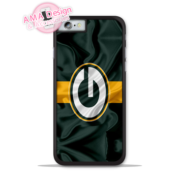 Green Bay Packers Futbol Bayrağı Telefon Kılıfı Apple iphone X 8 7 6 6 s Artı 5 5 s SE 5c ipod touch Için 4 4 s