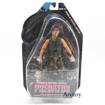 "Predators 25th Anniverary Jungle Karakol Hollandalı Predators PVC Action Figure Koleksiyon Model Oyuncak 7 ""18 cm"